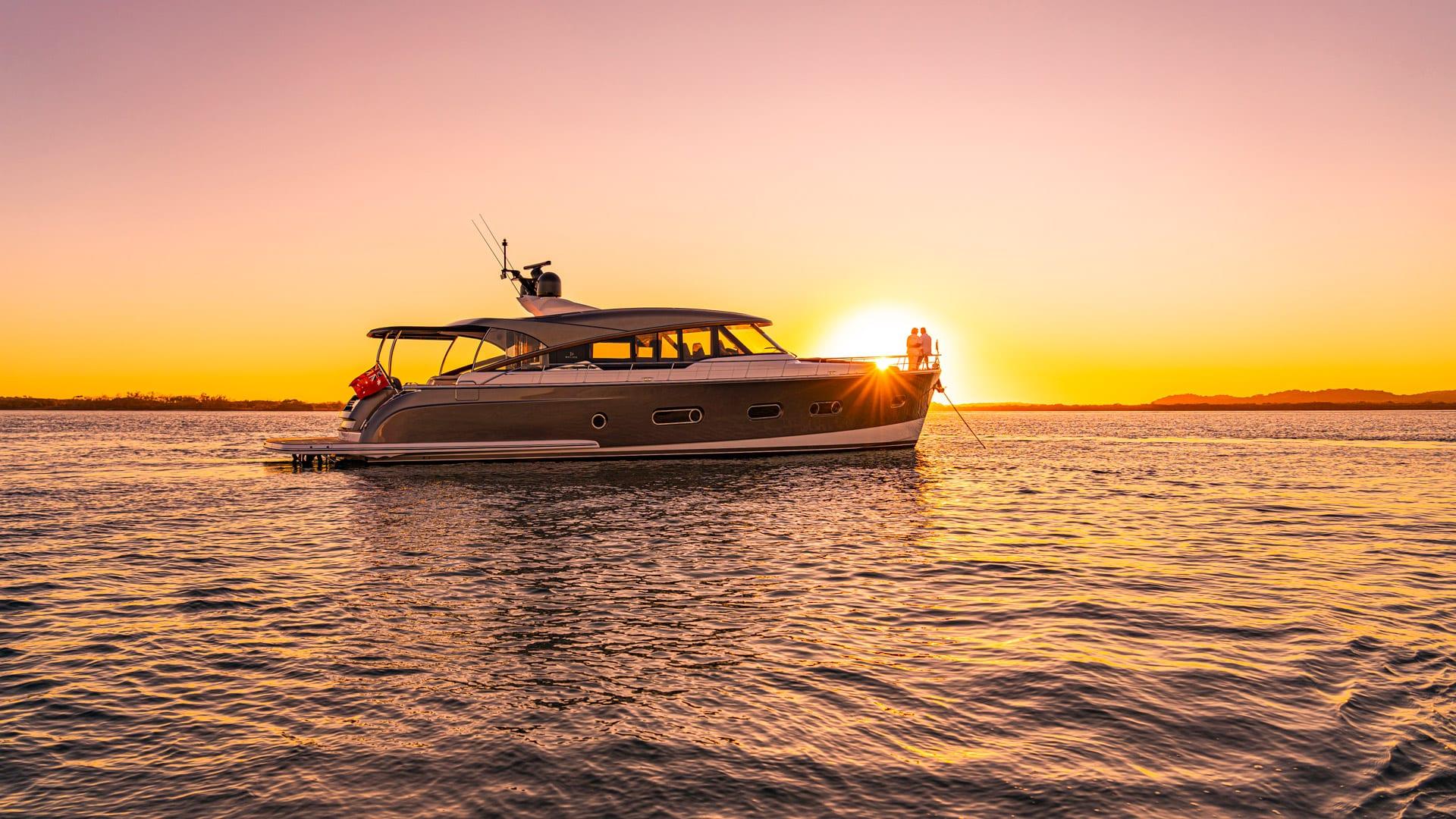 Belize 66 Sedan Sunset 03