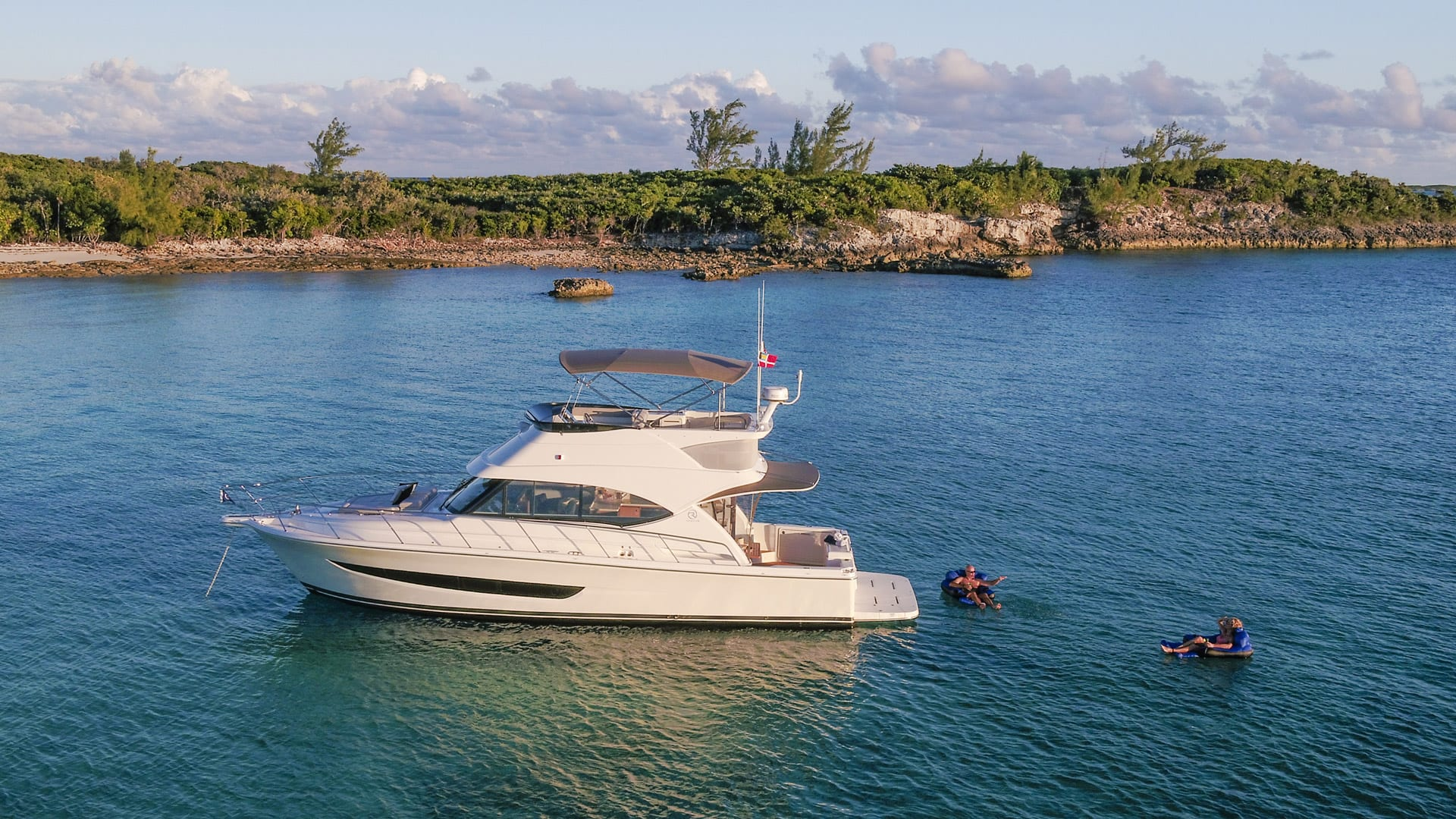 Riviera 39 Open Flybridge Aerial 05