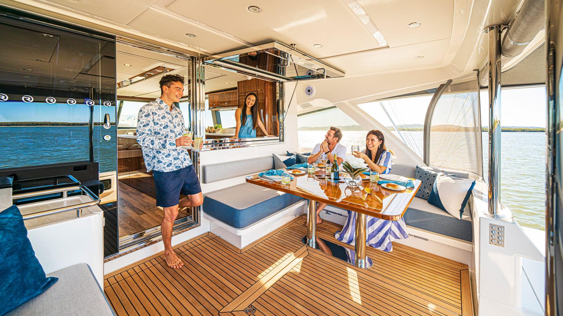Riviera 64 Sports Motor Yacht Mezzanine 03