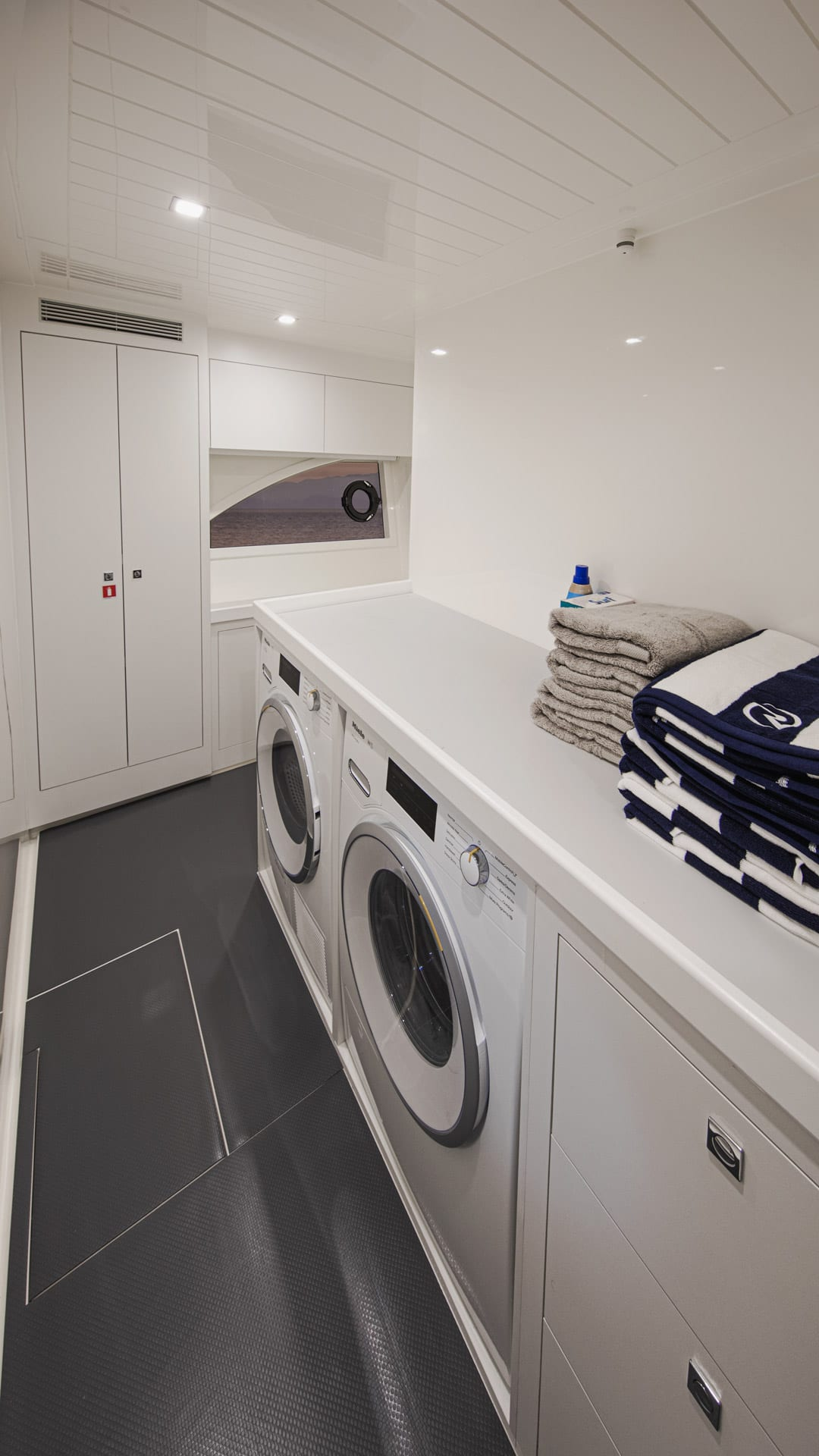 Riviera 64 Sports Motor Yacht Utility Room 01