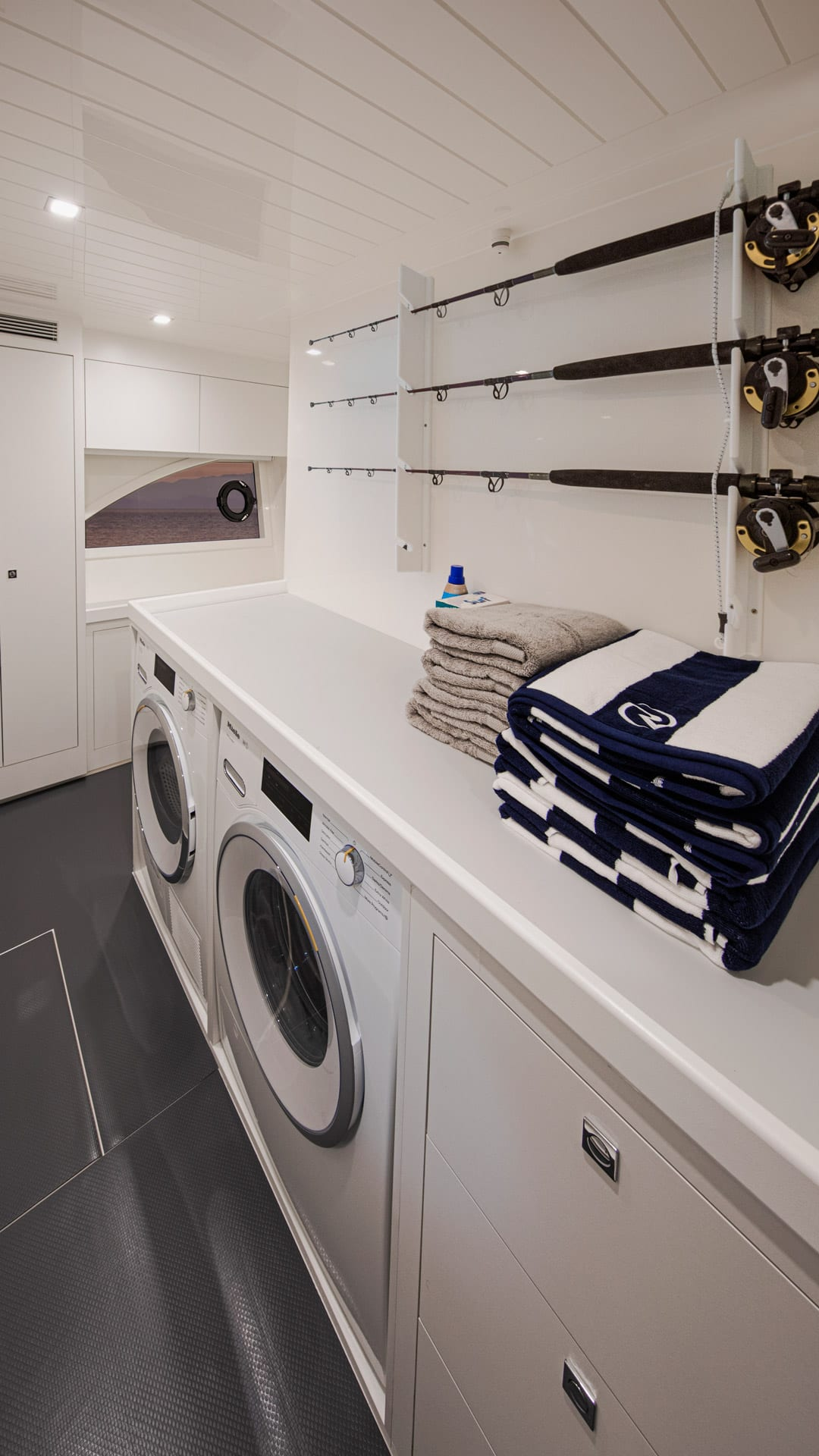 Riviera 64 Sports Motor Yacht Utility Room 03