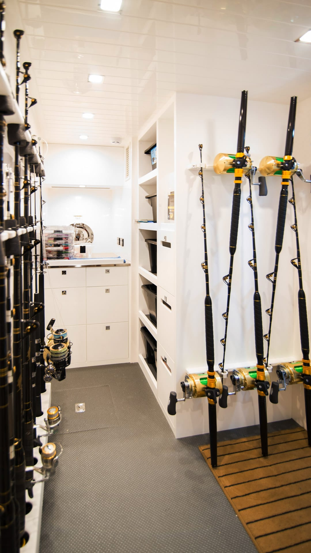 Riviera 72 Sports Motor Yacht Utility Room 03