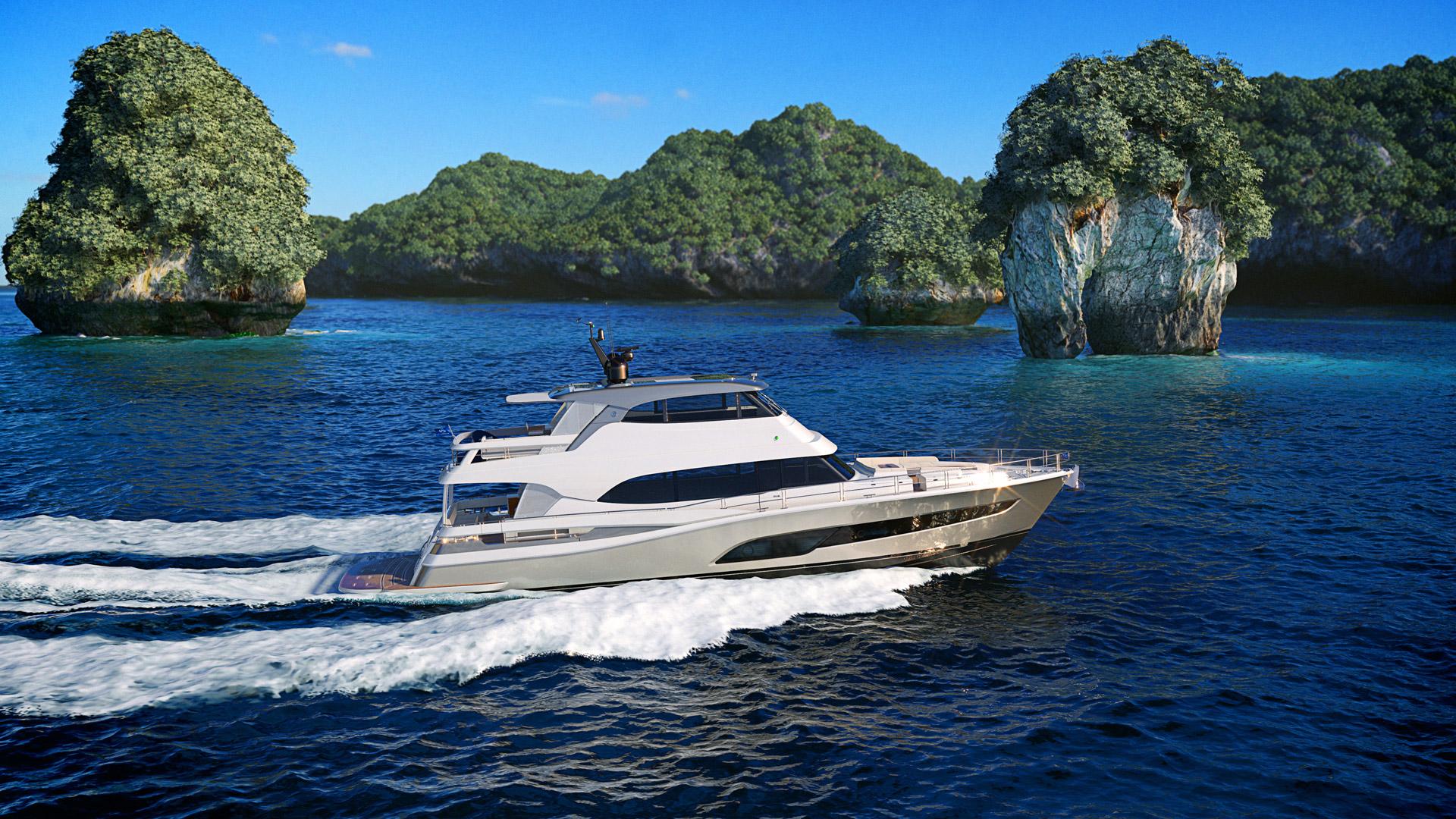 Riviera 78 Motor Yacht 04