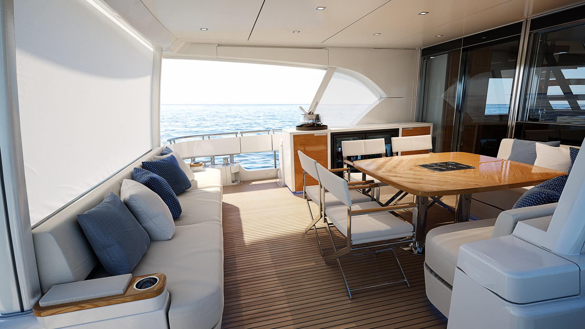 Riviera 78 Motor Yacht Alfresco 02