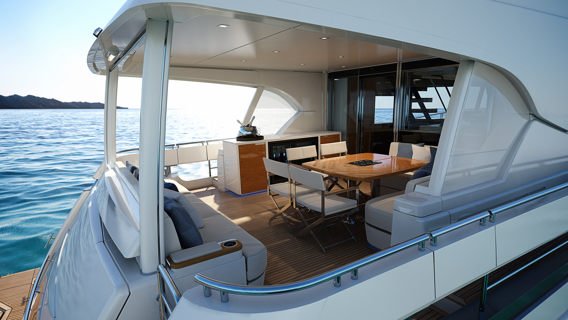 Riviera 78 Motor Yacht Alfresco 03