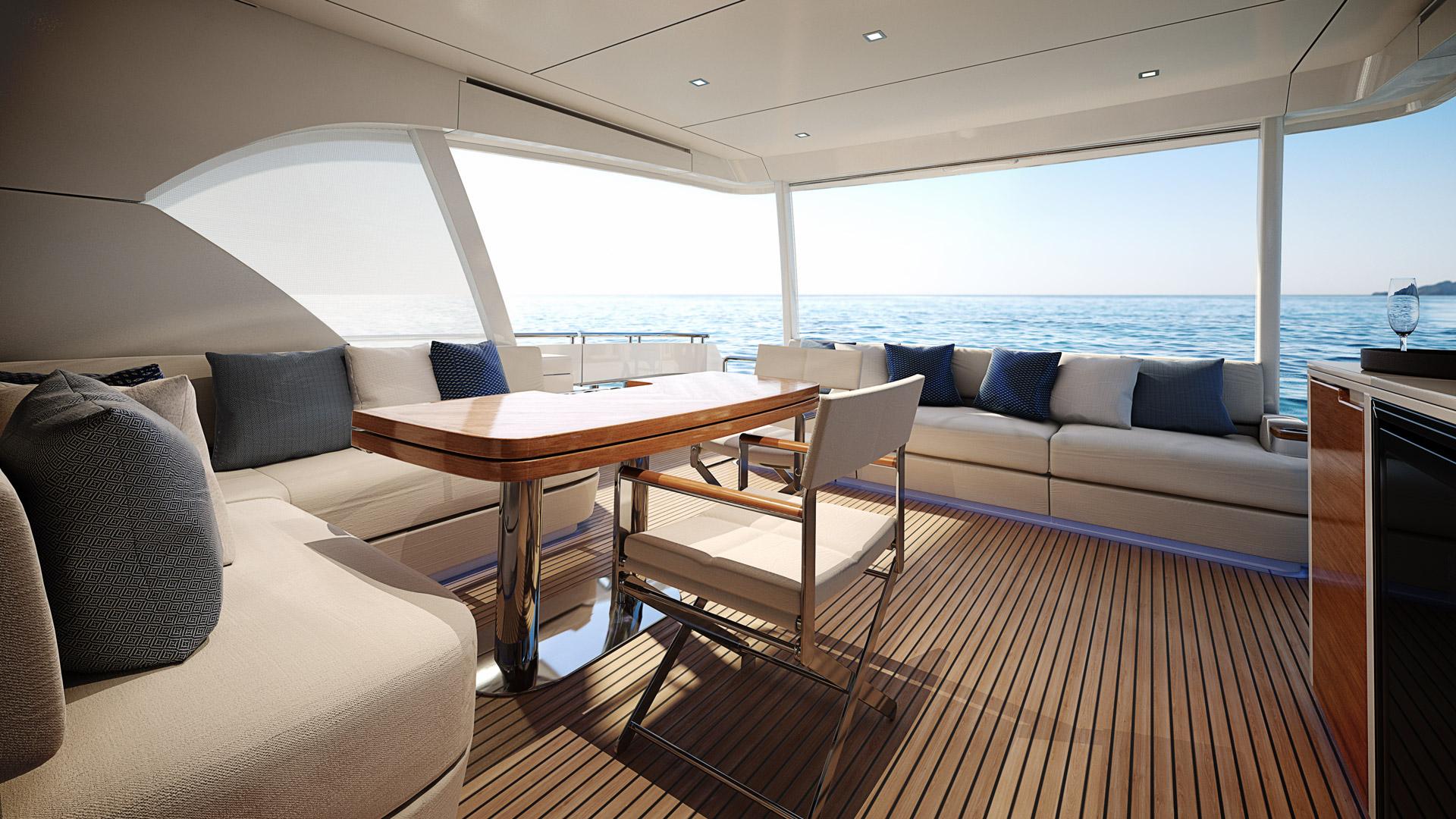 Riviera 78 Motor Yacht Alfresco 04