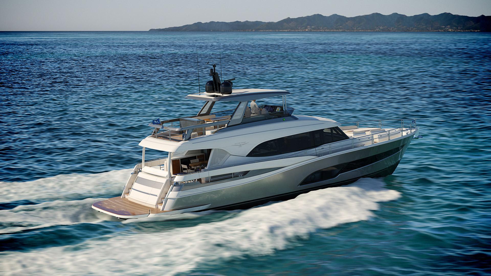Riviera 78 Motor Yacht Open Flybridge 02