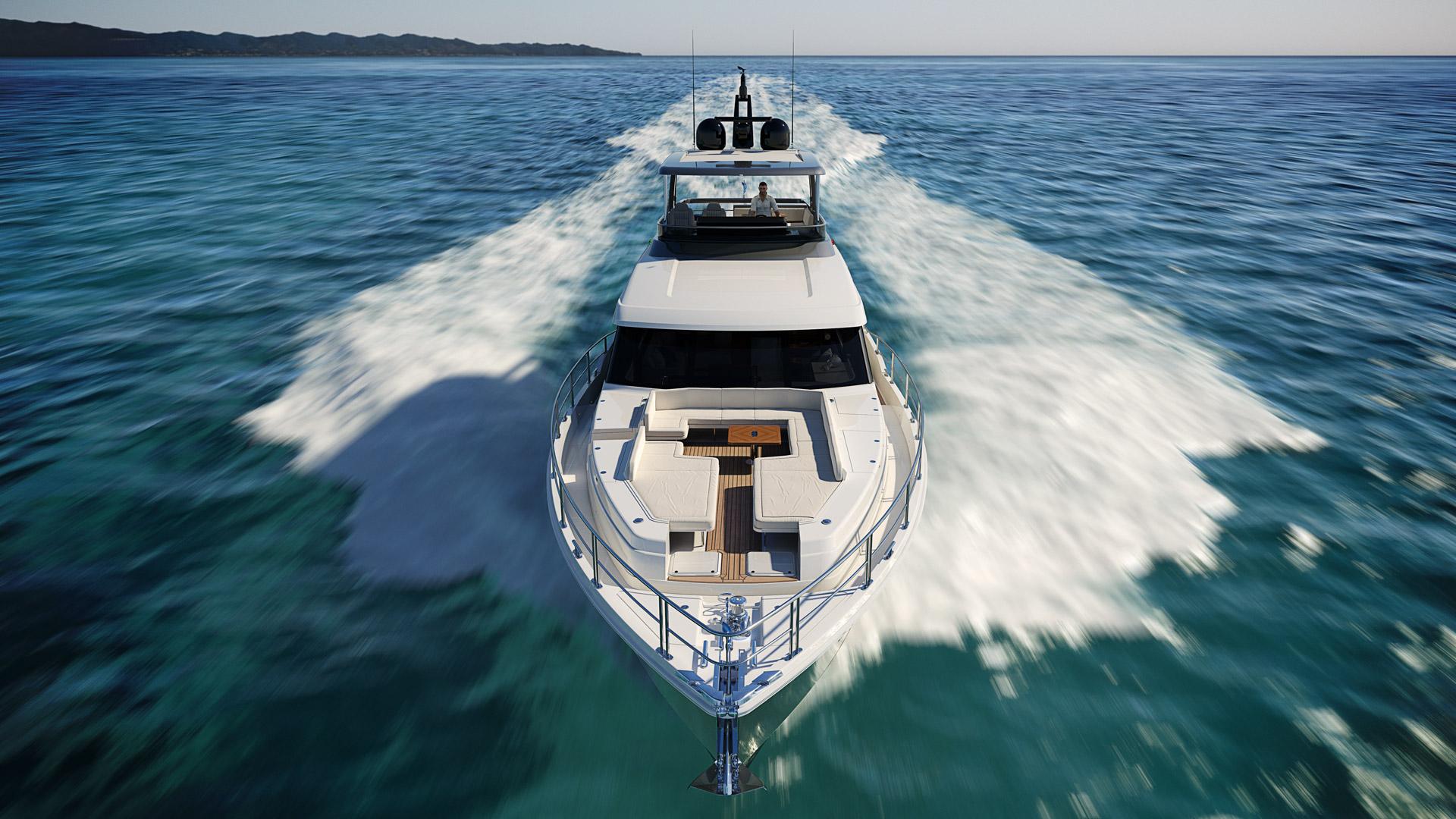Riviera 78 Motor Yacht Open Flybridge 03