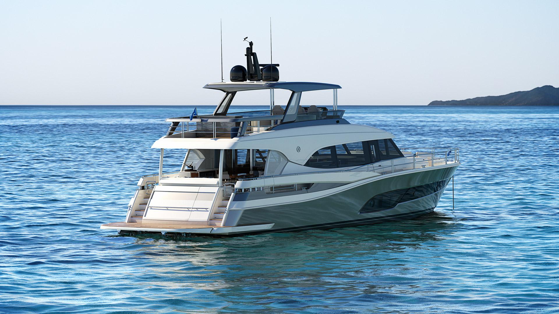 Riviera 78 Motor Yacht Open Flybridge 04