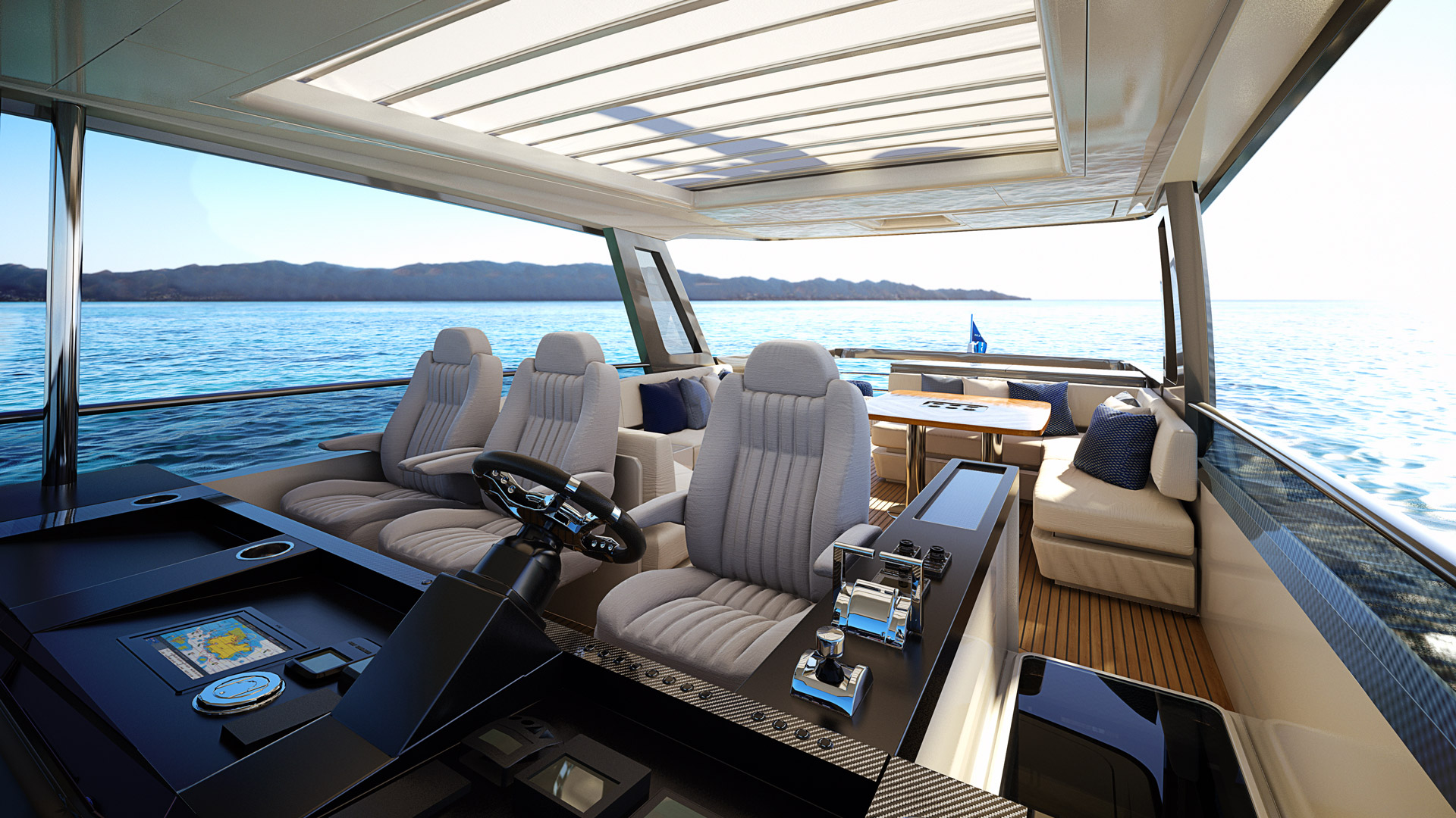 Riviera 78 Motor Yacht Open Flybridge 05
